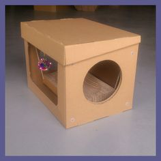 Perfect Cardboard Cat House For Dkch131113   Buy Cardboard Cat House,Corrugated  Cat House,Pet House Product On Alibaba.com