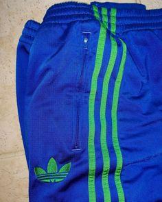ff414712f605 Mens Adidas BIG LOGO 3 Stripe Track Pants Large Sweatpants Royal Blue  #fashion #clothing