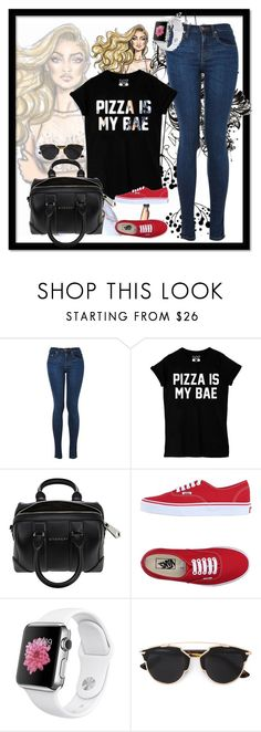 """""""Fashion set #15"""" by dandi-gramov ❤ liked on Polyvore featuring moda, Givenchy, Vans, Christian Dior, women's clothing, women's fashion, women, female, woman y misses"""