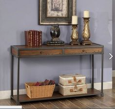 CM4228S Sofa Table Hecura I Collection