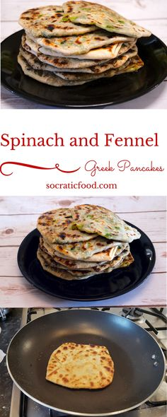 Spinach and Fennel Greek Pancakes