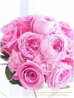 Yu's fleur プリザーブドフラワーローズミルフィーユブーケ