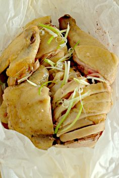 Hakka Salted Steamed Chicken (客家盐鸡) recipe - Life is Great