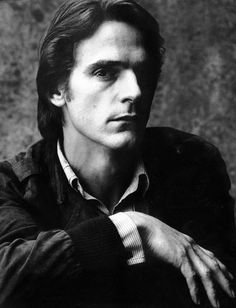 Jeremy Irons, 1981 :: Photograph by Lord Snowdon.