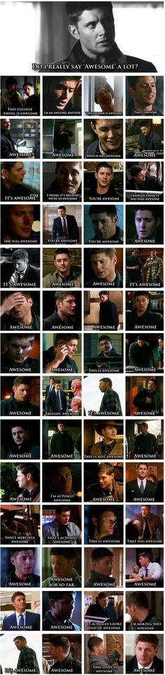 Dean being awesome