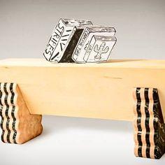 """Coleção de móveis """"Marbleabilia"""" da designer Lucia Massari que utiliza sobras de mármore carrara e de ônix para criar peças únicas. #design #viennadesignweek2015 #luciamassari #marble #mármore #decoracao"""