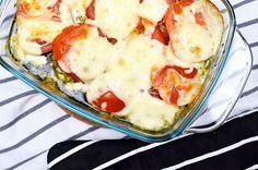 Op Facebook zag ik al tig keer een snelle video voorbij komen van kipfilet uit de oven met pesto, mozzarella en tomaat. Na het filmpje denk ik voor die tiende keer op mijn timeline voorbij kwam lie…