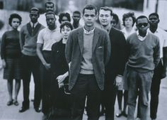 Richard Avedon, Julian Bond And Members Of The Student Nonviolent Coordinating Committee, Atlanta, Georgia, 1963