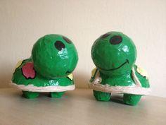 Grosses  Schildkrötenpaar - Schildkröte - Dekofigur  Absolute Unikate - Pärchen