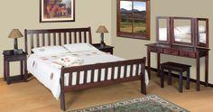 Pilanesberg Sleigh Bed