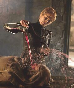 Cersei taking her revenge in the best way!