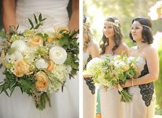 Gatsby & Vintage Inspired Fairytale Wedding - The Westchester Wedding Planner, Wedding Flowers, Bouquet