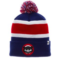 3e58e862377 Chicago Cubs Striped 1984 Breakaway Chubby Bears Knit. Knitted  GlovesChicago CubsBeaniesWinter HatsSweater ...