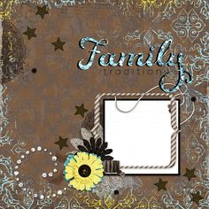 "Copper Blossom Paperie: Free 12""x12"" Family Traditions Digital Scrapbook Q..."
