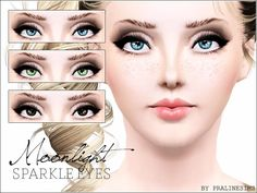 Pralinesims' Moonlight Sparkle Eyes