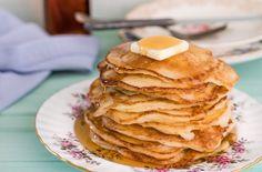 Pancakes protéinés au yogourt grec