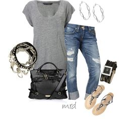 Grey Black and Casual :)