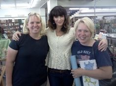 Kathryn Nelson from Nashville Tribute band came to visit the other day when they played in Logan. Thanks for stopping by!