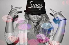Swag girl  # snapback http://www.wonderfulsnapbackswholesale.com/ I've always wanted a hat like that