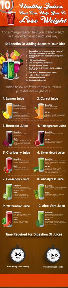 10 Healthy Juices That Can Help You To Lose Weight. #WeightLoss