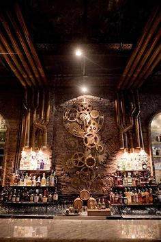 Steampunk Tendencies Victoria Brown Bar: Buenos Aires, Argentina [Via Facebook]