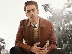 Model Watch: Jon Kortajarena in New Salvatore Ferragamo Campaign