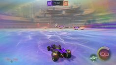 EPIC!! - Rocket  league SUPER Batmoblie Shoot - YouTube