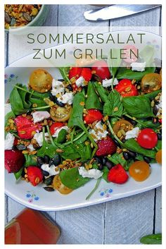 Erdbeere Minze Marmelade : linsensalat vegan und sinnlich mit scharfen crackern ~ Lizthompson.info Haus und Dekorationen