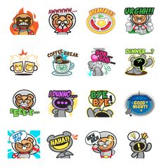 Making communications more colourful! We are now on LINE CHAT.  Download the stickers today!