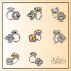 Wring in summers with the choicest collection of rings from #HazoorilalBySandeepNarang #LilyCuts #Diamonds #Rings #ItcMaurya #DlfEmporio #HazoorilalJewellers #Hazoorilal