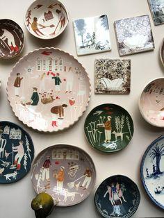 Polly Fern - Home Garden Plate