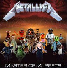 Spoof Metallica Album - Master of Muppets