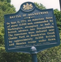 battle of brandywine Titanic History, World History, Family History, Rms Titanic, Ancient History, American Revolutionary War, American Civil War, American History, Pennsylvania History