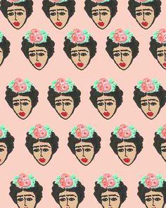 Frida Kahlo pattern