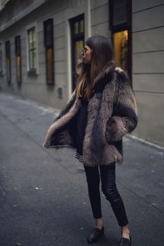 Would love to get a great faux fur coat but I'm not sure I'd wear it much after this holiday.