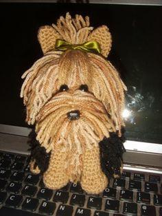 FREE Yorkie Terrier Amigurumi Crochet Pattern and Tutorial
