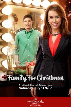Its a Wonderful Movie - Your Guide to Family Movies on TV: Lacey Chabert stars in 'Family for Christmas' on the Hallmark Channel