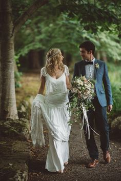 Whimsical Boho Woodland Wedding http://katmervynphotography.com/