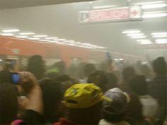 Desalojan estación San Lázaro del Metro por problema en convoy