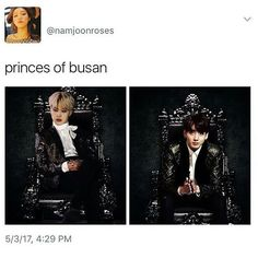 I could imagine this photo being used in some kinky jikook fanfic. Like a prince au where they are both in arranged marriages but have a secret relationship with each other.