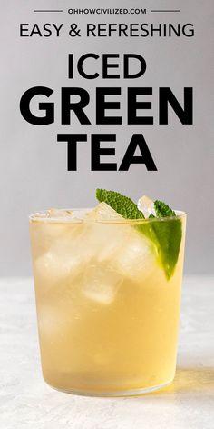 Raspberry Iced Tea, Peach Ice Tea, Hot Tea Recipes, Drink Recipes, Loose Green Tea, Butterfly Pea Tea, Homemade Iced Tea, Making Iced Tea, Tea Sandwiches
