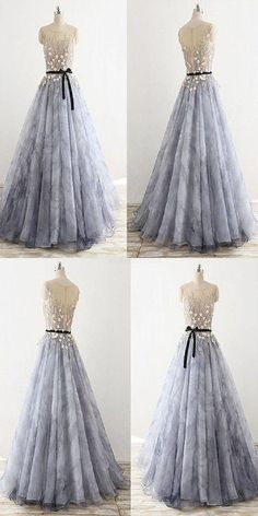 Outlet Soft Sleeveless Prom Dresses, Prom Dresses With Appliques Sleeveless ball gowns, prom dresses with applications I Ball gowns 2019 Backless Prom Dresses, A Line Prom Dresses, Cheap Prom Dresses, Stylish Dresses, Dance Dresses, Elegant Dresses, Homecoming Dresses, Vintage Dresses, Evening Dresses