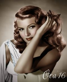 Rita Hayworth by on DeviantArt - Tilda Hollywood Icons, Old Hollywood Glamour, Vintage Hollywood, Hollywood Stars, Hollywood Actresses, Classic Hollywood, Actors & Actresses, Rita Hayworth, Marilyn Monroe