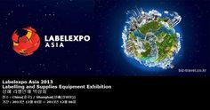 Labelexpo Asia 2013 Labelling and Supplies Equipment Exhibition 상해 라벨인쇄 박람회