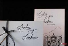 Invitación de boda y misal.