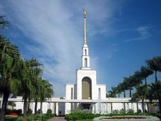 São Paulo Brazil Mormon Temple. © 2007, Anderson Diego Fagundes. All rights reserved.