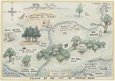 the Hundred Acre Wood (E.H. Shepard)
