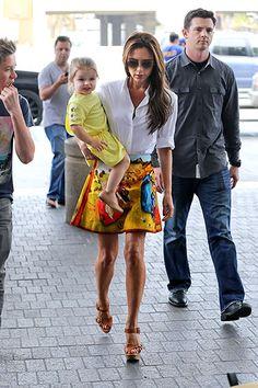 Mellow Yellow: Victoria Beckham