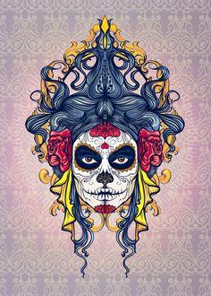 Dia De Los Muertos by mercidsgn.deviantart.com on @deviantART