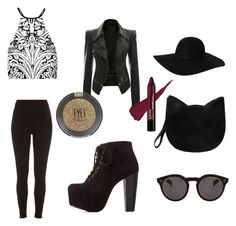 """Night out"" by farzz ❤ liked on Polyvore"